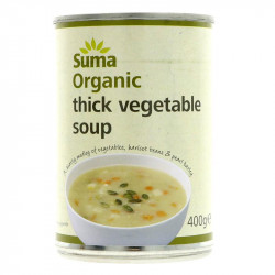 RUSTIC VEGETABLE SOUP (Suma) 400g
