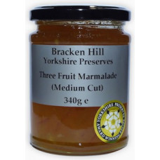 THREE FRUIT MARMALADE (Bracken Hill) 340g