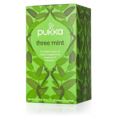 THREE MINT TEA BAGS (Pukka) x 20 bags