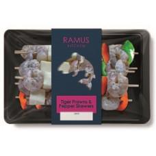 TIGER PRAWN & PEPPER SKEWERS (Ramus) 180g
