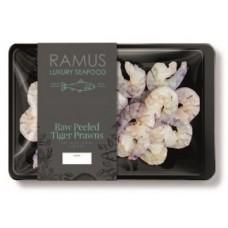 RAW PEELED TIGER PRAWNS (Ramus) 200g