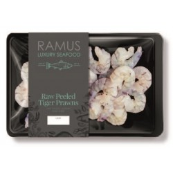 RAW PEELED TIGER PRAWNS (Ramus) 200g