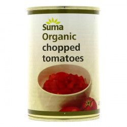 TOMATOES - CHOPPED (Suma) 400g