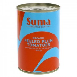 TOMATOES - WHOLE (Suma) 400g