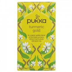 TURMERIC GOLD TEA (Pukka) x 20