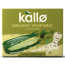 STOCK CUBE - VEGETABLE (Kallo) x 6
