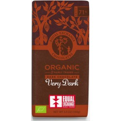 VERY DARK CHOCOLATE 71% (Equal Exchange) 100g