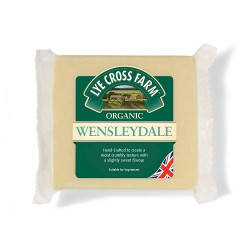 WENSLEYDALE CHEESE (Lye Cross Farm) 245gm