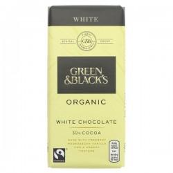 WHITE CHOCOLATE (Green & Black's) 100g