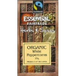 WHITE PEPPERCORNS (Essential) 25g