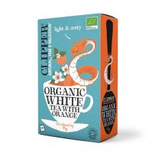 WHITE TEA WITH ORANGE (Clipper) x 26 bags