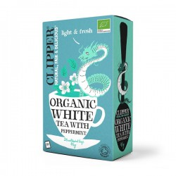 WHITE TEA WITH PEPPERMINT (Clipper) 125g