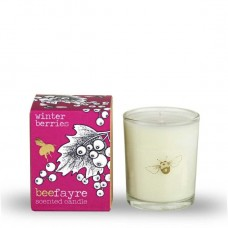 WINTER BERRIES VOTIVE (Bee Fayre)