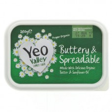 BUTTER - SPREADABLE (Yeo Valley) 250g