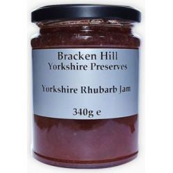 YORKSHIRE RHUBARB JAM (Bracken Hill) 340g