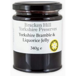 YORKSHIRE BRAMBLE & LIQUORICE JELLY (Bracken Hill) 340g