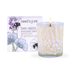 CANDLE - ENGLISH GARDEN (Bee Fayre) 9cl
