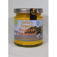 ENGLISH MUSTARD (Carley's Organic) 170g
