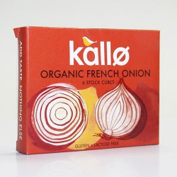 STOCK CUBE - FRENCH ONION (Kallo) x 6