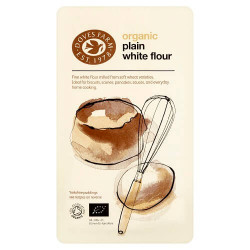 PLAIN WHITE FLOUR (Dove's Farm) 1kg