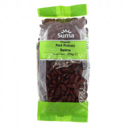 RED KIDNEY BEANS - DRIED (Suma) 500g