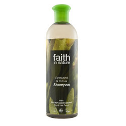 SHAMPOO - SEAWEED & CITRUS (Faith in Nature) 400ml